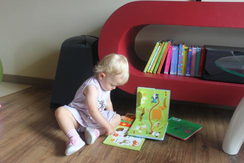 Miejsce na książki dla dziecka