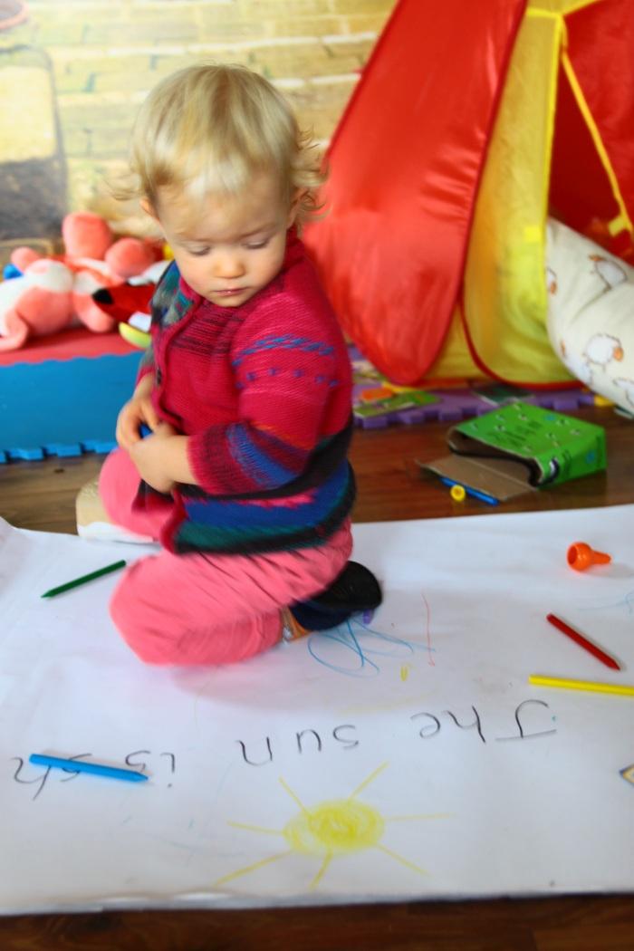 Nasza strategia w dwujęzycznym wychowaniu (Maja ma 19 miesięcy)