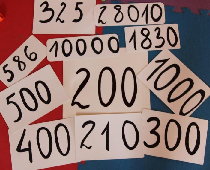 Liczby większe niż 100 w metodzie Domana