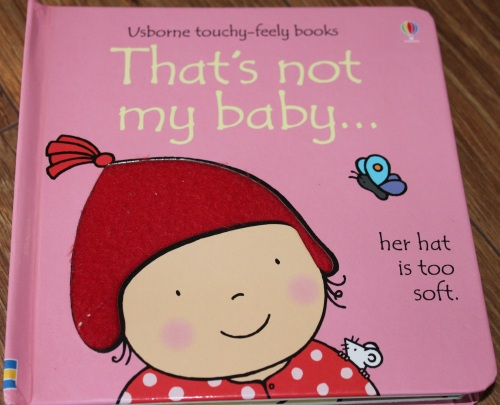 Usborne touchy-feely books