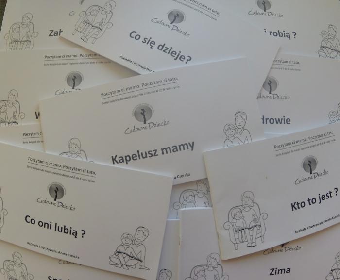 Książki do nauki czytania metodą globalną