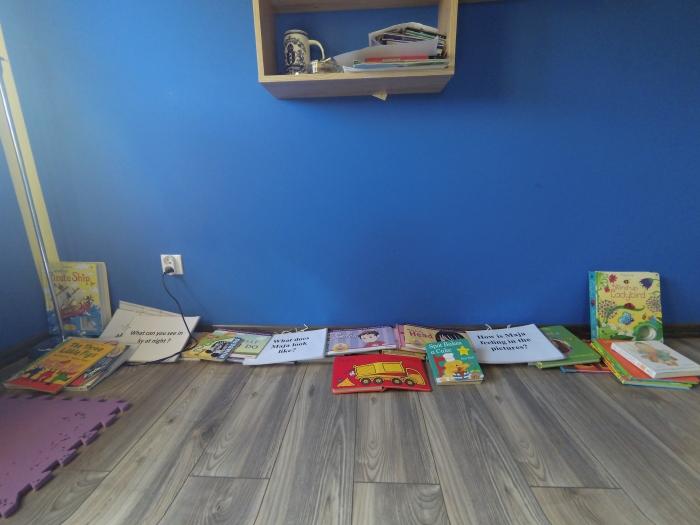 Gdzie trzymać książki dla malucha
