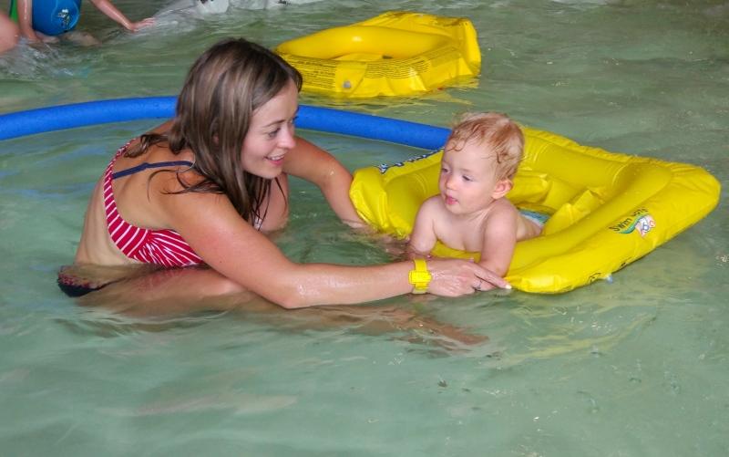 Kiedy zabrać dziecko na basen