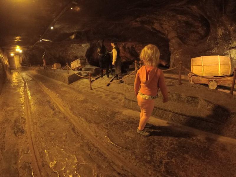 Trasa dla dzieci w kopalni soli