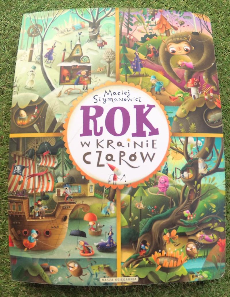 Książka, która zabierze was do magicznej krainy czarów i rozwinie wyobraźnię waszego dziecka (prawopółkulowość)