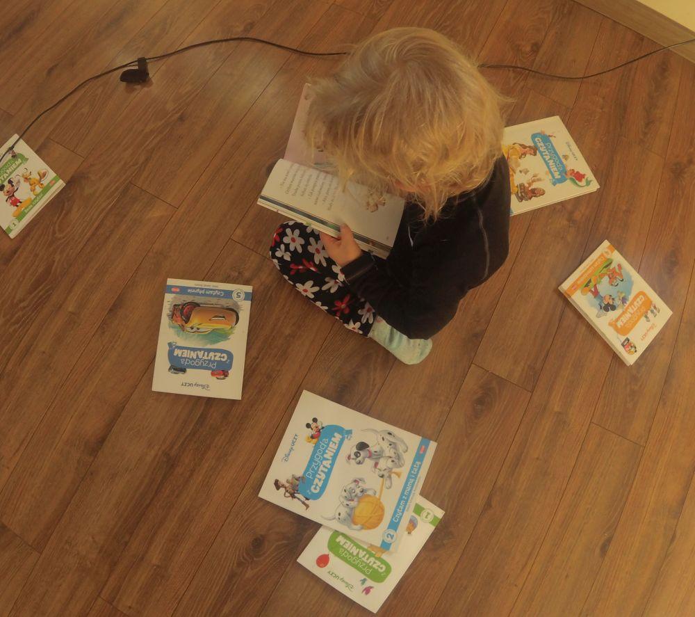 """Recenzja serii książek dla początkujących czytelników -Disney uczy """"Przygoda z czytaniem"""" (wersja audio)"""