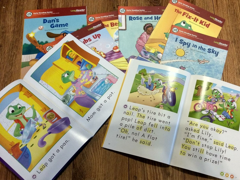 Recenzja książek z czytającym pisakiem LeapFrog Early Reading Series – LeapReader System (wersja audio)