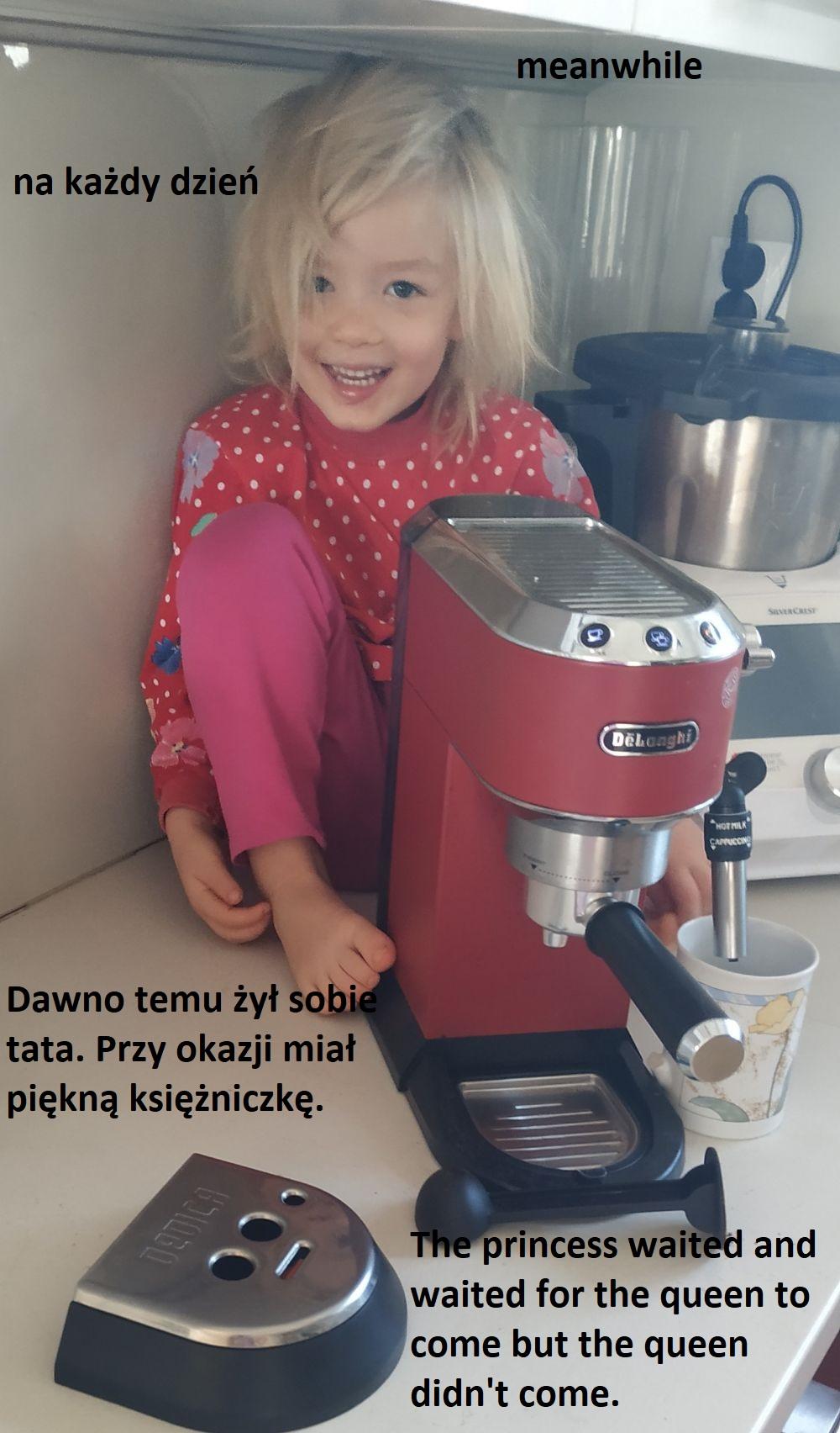 Jak mówi dwujęzyczna czterolatka wychowana w dwujęzyczności zamierzonej w dwóch językach głównych (wersja audio)