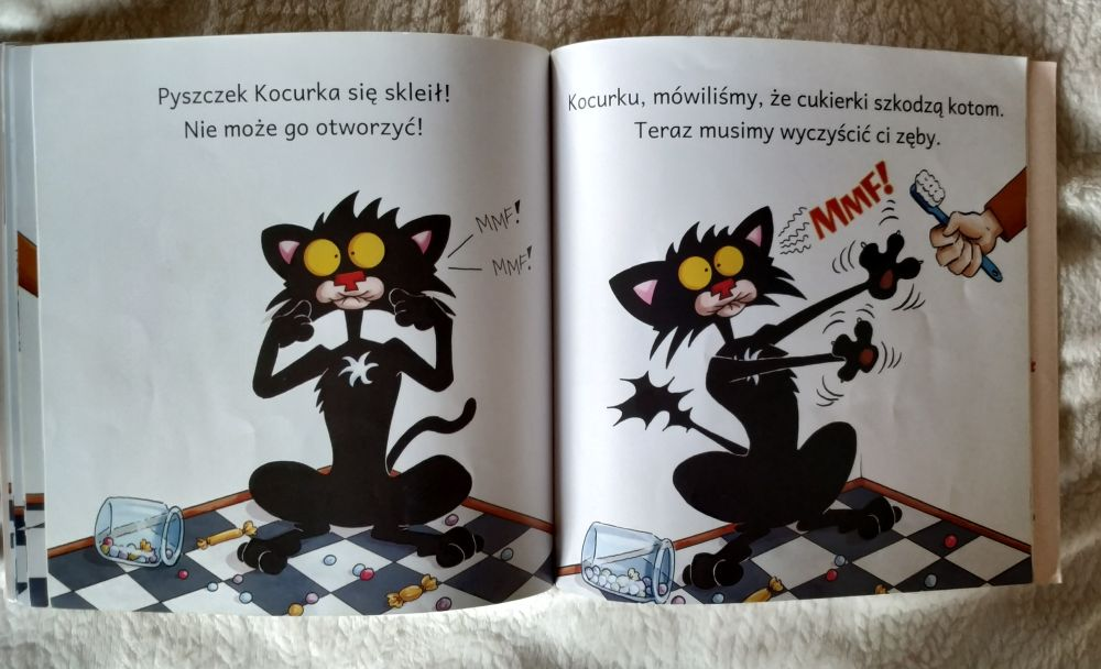 Pierwsze książki po polsku